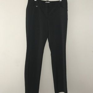 New York & Company Pinstripe Pants Size 8 Average